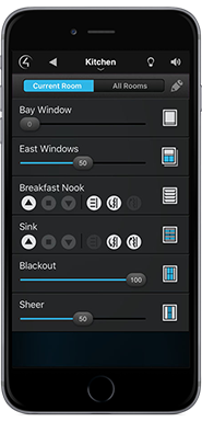 iphone window control interface