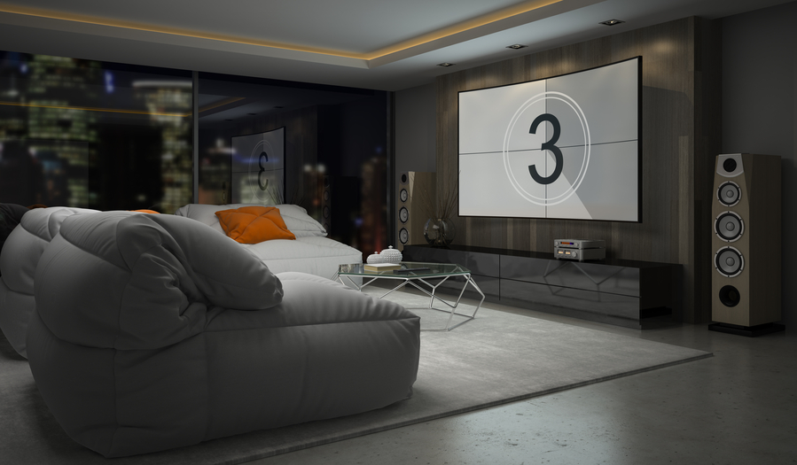 'Smart' Home Theaters Are Easier to Enjoy Anytime